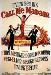 Call Me Madam 1953 DVD - Ethel Merman / Donald O'Connor